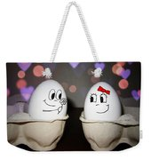Egg Love Weekender Tote Bag