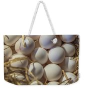 Egg Stand - La Bouqueria - Barcelona Spain Weekender Tote Bag