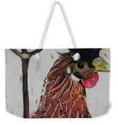 Egg Zactly Weekender Tote Bag