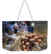 Eggsactly What You Are Looking For - La Bouqueria - Barcelona Spain Weekender Tote Bag