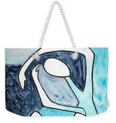 Eggtree Abstract Art Figure Weekender Tote Bag