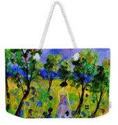 Eglantine's Summer Walk Weekender Tote Bag