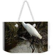 Egret 2 Weekender Tote Bag