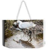 Egret 3 Weekender Tote Bag