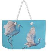Egret Glide Weekender Tote Bag