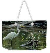 Egret In The Swamp Weekender Tote Bag