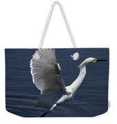 Egret Taking Off Weekender Tote Bag