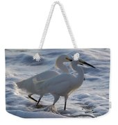 Egrets In The Shallows Weekender Tote Bag