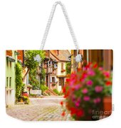 Half-timbered House, Eguisheim, Alsace, France  Weekender Tote Bag