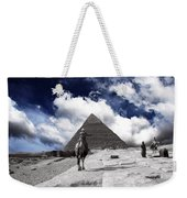 Egypt - Clouds Over Pyramid Weekender Tote Bag
