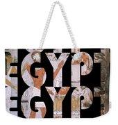 Egypt 6 Weekender Tote Bag
