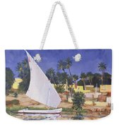 Egypt Blue Weekender Tote Bag by Clive Metcalfe