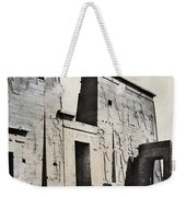 Egypt: Temple Of Isis Weekender Tote Bag by Granger