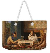 Egyptian Chess Players Weekender Tote Bag