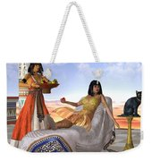 Egyptian Cleopatra Weekender Tote Bag