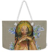 Egyptian Cotton Weekender Tote Bag by Baroquen Krafts
