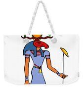Egyptian God - Khensu Weekender Tote Bag