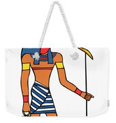 Egyptian God Of The Sun - Ra Weekender Tote Bag
