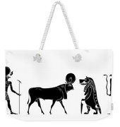 Egyptian Gods And Demons Weekender Tote Bag