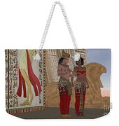 Egyptian King And Queen Weekender Tote Bag