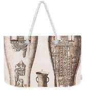 Egyptian Mummy, Illustration Weekender Tote Bag