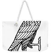 Egyptian Symbol: Falcon Weekender Tote Bag