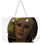 Egyptian Woman Face Weekender Tote Bag