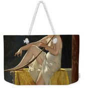 Egyptian Woman With Harp Weekender Tote Bag