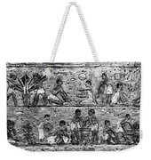 Egyptian Writing Weekender Tote Bag