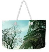 Eifell Tower View From Taxi II. Weekender Tote Bag