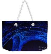 Eiffel Blue Weekender Tote Bag