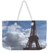 Eiffel Tower And Pont D'lena Weekender Tote Bag