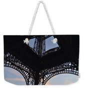 Eiffel Tower Corner Weekender Tote Bag
