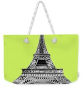 Eiffel Tower Design Weekender Tote Bag