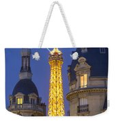 Eiffel Tower From Passy Weekender Tote Bag by Brian Jannsen