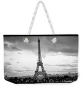 Eiffel Tower -panoramic. Weekender Tote Bag