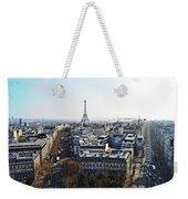 Eiffel Tower Paris France Weekender Tote Bag