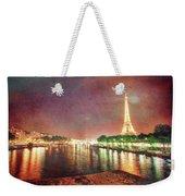 Eiffel Tower Reflections Weekender Tote Bag