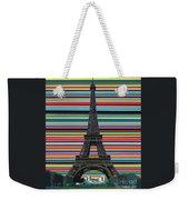 Eiffel Tower With Lines Weekender Tote Bag