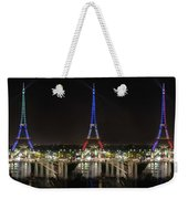 Eiffel Towers Weekender Tote Bag