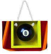 Eight Ball In Box Weekender Tote Bag