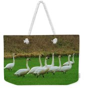 Eight Beautiful Swans Weekender Tote Bag
