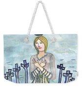 Eight Of Swords Illustrated Weekender Tote Bag