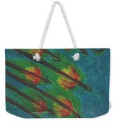 Eight Of Wands Illustrated Weekender Tote Bag