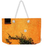 Eighteen On Orange Wall Weekender Tote Bag