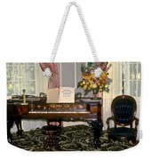Eighteenth Century Piano And Parlor Weekender Tote Bag