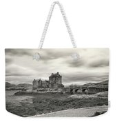 Eilean Donan Castle Bw 1337 Weekender Tote Bag