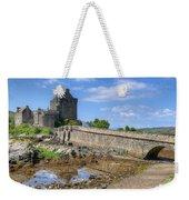 Eilean Donan Castle In Scotland Weekender Tote Bag