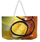 Ekg Stethoscope Composite Weekender Tote Bag