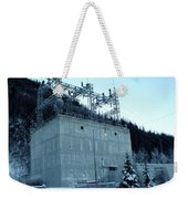 Eklutna Electric Blue Weekender Tote Bag